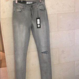 Grey DL1961 stretch jeans